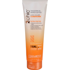 HGR1263771 - Giovanni Hair Care Products - 2chic Conditioner - Ultra-Volume Tangerine and Papaya Butter - 8.5 fl oz