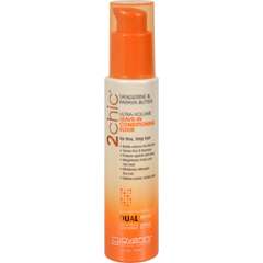 HGR1263797 - Giovanni Hair Care Products2chic Conditioning Elixir - Ultra-Volume Tangerine and Papaya Butter - 4 fl oz