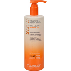 HGR1263961 - Giovanni Hair Care Products2chic Shampoo - Ultra-Volume Tangerine and Papaya Butter - 24 fl oz