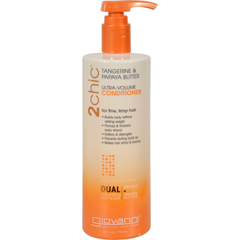 HGR1263979 - Giovanni Hair Care Products2chic Conditioner - Ultra-Volume Tangerine and Papaya Butter - 24 fl oz