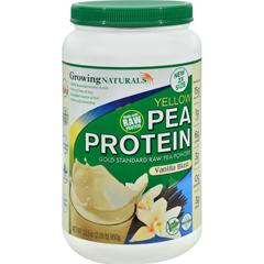 HGR1265628 - Growing NaturalsPea Protein Powder - Vanilla Blast - 33.5 oz