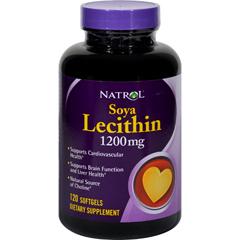 HGR1267616 - NatrolSoya Lecithin - 1200 mg - 120 Gelcaps