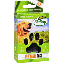 HGR1268796 - BiobagBioBag Dog Waste Bags On a Roll - Case of 12 - 45 Count