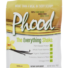 HGR1270628 - PlantfusionPhood Packets - Vanilla - 1.59 oz - Case of 12