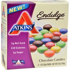 HGR1272541 - AtkinsEndulge Bars - Chocolate - 1 oz - 5 ct