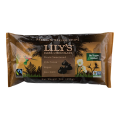HGR1272608 - Lily's Sweets - Dark Chocolate - Case of 12 - 9 oz..
