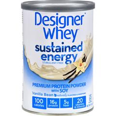 HGR1274539 - Designer WheyProtein Powder - Sustained Energy Vanilla Bean - 12 oz