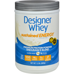 HGR1274562 - Designer WheyProtein Powder - Sustained Energy - Vanilla Bean - 1.5 lb