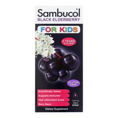 HGR1274919 - SambucolBlack Elderberry Syrup for Kids - 7.8 oz