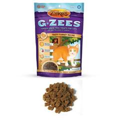 HGR1275080 - Zuke'sCat Treats - G Zees Turkey Grain Free - 3 oz - Case of 12