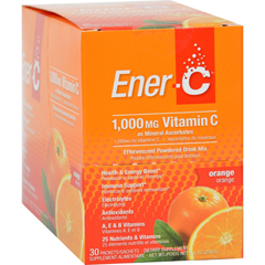 HGR1275163 - Ener-C - Vitamin Drink Mix - Orange - 1000 mg - 30 Packets