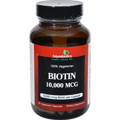 HGR1277722 - FutureBioticsBiotin - 10000 mcg - 90 Vegetarian Capsules