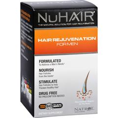 HGR1278977 - NuhairNuHair Hair Regrowth for Men - 60 Tablets
