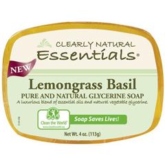 HGR1279603 - Clearly NaturalGlycerin Bar Soap - Lemongrass Basil - 4 oz