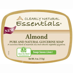 HGR1279629 - Clearly NaturalGlycerin Bar Soap - Almond - 4 oz