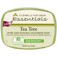 HGR1279637 - Clearly NaturalGlycerin Bar Soap - Tea Tree - 4 oz