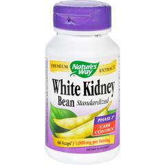 HGR1279850 - Nature's WayNatures Way White Kidney Bean - 60 Vegetarian Capsules