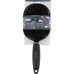 HGR1280403 - Earth TherapeuticsHair Brush - Paddle - Silicon - Black - 1 Count