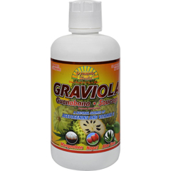HGR1280502 - Dynamic HealthGraviola Guanabana-Soursop Extract Superfruit Juice Blend - 32 oz
