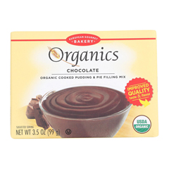 HGR1281138 - European Gourmet Bakery - Organic Chocolate Pudding Mix - Pudding Mix - Case of 12 - 3.5 oz..