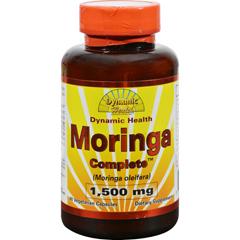 HGR1281369 - Dynamic HealthMoringa Complete - 1500 mg - 60 Vegetarian Capsules