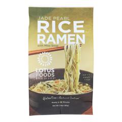 HGR1281534 - Lotus Foods - Ramen - Organic - Jade Pearl Rice - with Miso Soup - 2.8 oz.. - case of 10