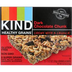 HGR1283241 - KindGranola - Healthy Grains - Dark Chocolate Chunk - 5/1.2 oz - case of 8