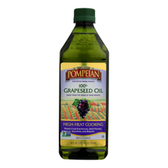 HGR1336486 - Pompeian - 100% Grapeseed Oil - Case of 6 - 24 FZ