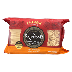 HGR1340710 - Sharwood - Egg Noodles - Medium - Case of 8 - 12.3 oz..