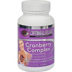 HGR1351865 - Optimal BlendCranberry Complex - 30 Capsules