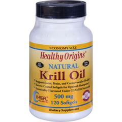 HGR1352376 - Healthy Origins - Krill Oil - 500 mg - 120 Softgels