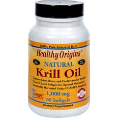 HGR1352384 - Healthy OriginsKrill Oil - 1000 mg - 60 Softgels