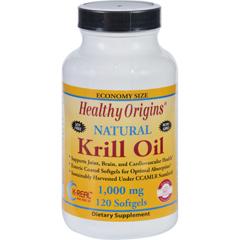 HGR1352392 - Healthy OriginsKrill Oil - 1000 mg - 120 Softgels