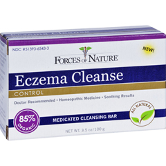 HGR1372622 - Forces of NatureOrganic Eczema Cleanse - 3.5 oz