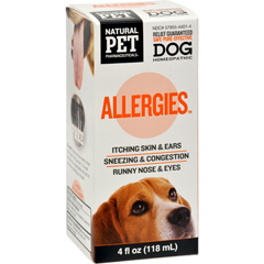 HGR1383702 - King Bio HomeopathicNatural Pet Dog - Allergies - 5 oz