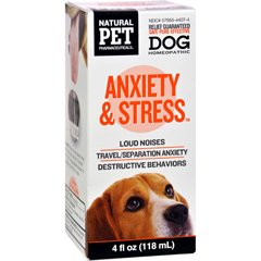 HGR1383728 - King Bio HomeopathicNatural Pet Dog - Anxiety and Stress - 4 oz