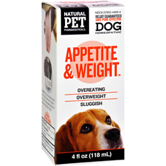HGR1383744 - King Bio HomeopathicNatural Pet Dog - Appetite and Weight - 4 oz