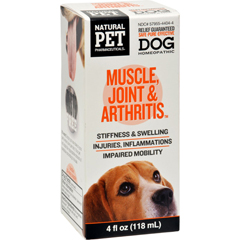 HGR1383769 - King Bio HomeopathicNatural Pet Dog - Muscle Joint and Arthritis - 4 oz