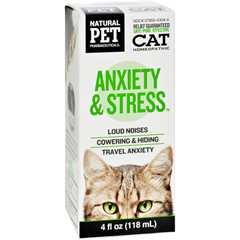 HGR1383793 - King Bio HomeopathicNatural Pet Cat - Anxiety and Stress - 4 oz