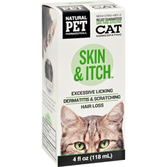 HGR1383819 - King Bio HomeopathicNatural Pet Cat - Skin and Itch - 4 oz