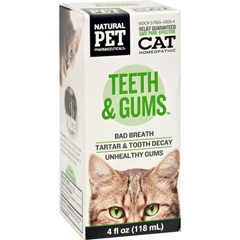 HGR1383827 - King Bio HomeopathicNatural Pet Cat - Teeth and Gums - 4 oz