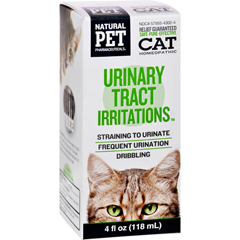 HGR1383835 - King Bio HomeopathicNatural Pet Cat - Urinary Tract Irritations - 4 oz