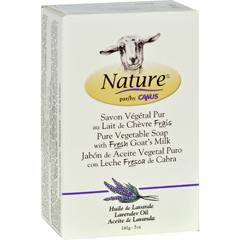 HGR1389196 - Nature By CanusBar Soap - Goats Milk - Lavender Oil - 5 oz