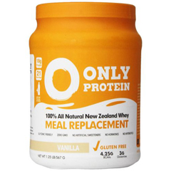 HGR1406057 - Only ProteinMeal Replacement - Whey - Vanilla - 1.25 lb