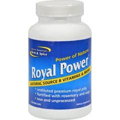 HGR1417419 - North American Herb and SpiceRoyal Power - 120 Capsules