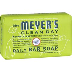 HGR1417815 - Mrs. Meyer'sBar Soap - Lemon Verbena - 5.3 oz - Case of 12