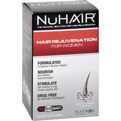 HGR1472836 - NatrolHair Regrowth - NuHair Women - 60 Tablets