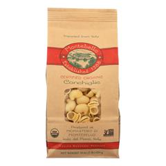 HGR1499540 - Montebello - Organic Conchiglia - Case of 12 - 1 lb.