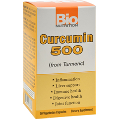 HGR1500933 - Bio Nutrition - Curcumin 500 - 50 Vegetarian Capsules