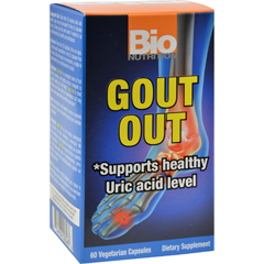 HGR1500941 - Bio NutritionGout Out - 60 Vegetarian Capsules